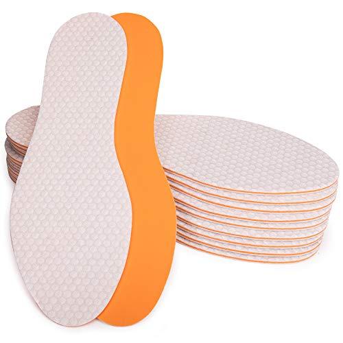 SULPO 10 Paare Einlegesohlen mit einem frischen Duft Einlagen gegen Schweißfüße Schuheinlagen für Damen und Herren anti Geruch Sohlen/Gr. 36-47 (40)