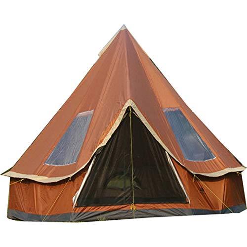 Tienda de campaña de Lujo 4M, Tienda de campaña Yurt 210D Oxford India, Tienda de campaña Impermeable, Tienda de privacidad portátil para Acampar en Familia, Caza al Aire Libre