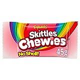 SKITTLES CHEWIES - Bonbons enrobés goût Fruits- Sachets de 45g - Maxi Pack de 36