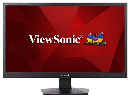 ViewSonic VA2407H Moniteur 24' Full HD 1920x1080 Pixels, 5ms, VGA, HDMI, Gris