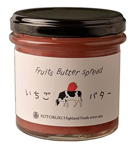 寿高原食品 Kotobukiいちごバター 140g ×2個