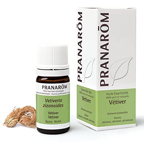 Pranarôm | Huile Essentielle Vétiver | Vetiveria zizanoides | Racines | HECT | 5 ml