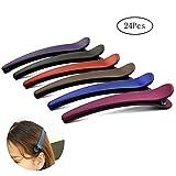 Gurxi Haarnadel Kombination Farbe Entenschnabel Haarspange Haarspange Schulmädchen zum Festklemmen...