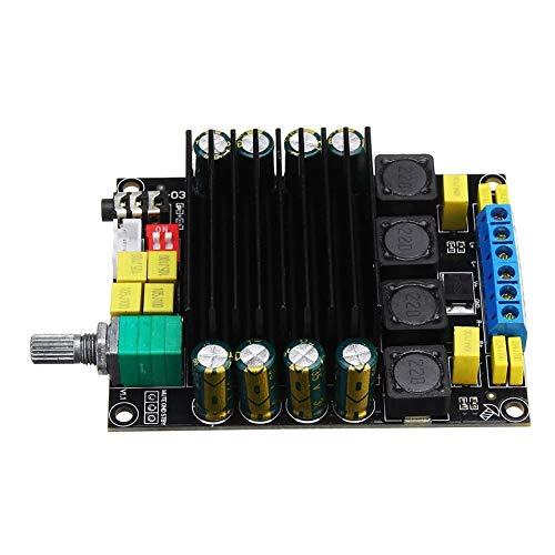 HYY-YY Tablero amplificador TDA7498 DC12-36V 2 * 100W HIFI Digital puede ajustar el volumen de salida Amplificador Board 2.0 Clase D Estéreo seguro y duradero