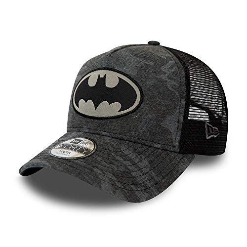 A NEW ERA Unisex-Erwachsene Kids Camo 9forty Trucker Batman Gra Kappe, grau, Einheitsgröße