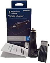 Samsung Adaptive Fast Charging Vehicle Car Charger - For S7/S6/Note 4/5/Edge (US Retail Packing) (Renewed)