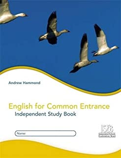 English for Common Entrance: Independent Study Book