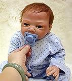 ZIYIUI Muñecas Reborn 19''/50 cm Reborn Niño Bebe Suave Silicona Realista Recien Nacidos Reborn Toddlers Regalo de Crecimiento Infantil(EN71) Muñecos Bebé