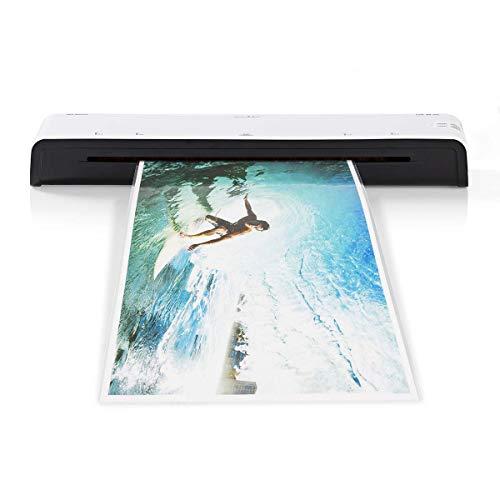 Nedis - Lamineermachine - Warm & Koud - A3-formaat - 300 mm/min - LED-lampje - Warmt in 4 tot 6 minuten op - Geschikt voor papierdikte van 75 tot 125 micron