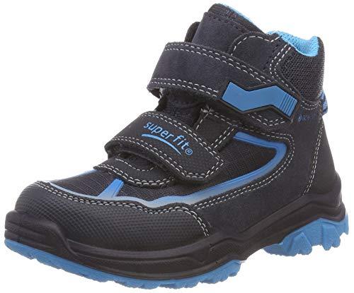 Superfit Jungen Jupiter Hohe Sneaker, Blau (Blau/Blau 80), 27 EU