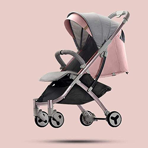 Review Of GPWDSN Stroller Pushchair, Baby Carriages Can Sit Horizontal Portable Folding Shock Absorp...