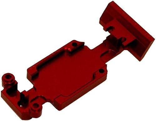 ST Racing Concepts aluminium Heavy Duty plaque de prougeection arri-re ensemble rouge