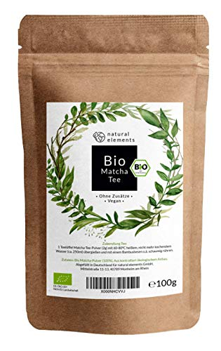 natural elements -  Bio Matcha aus