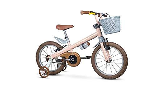Bicicleta Infantil Aro 16 Antonella Girl Rosa