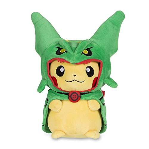 Pokemon POKÉ Plush Standard Pikachu with Rayquaza Cape
