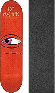 Toy Machine Skateboards Side Eye Skateboard Deck - 7.87