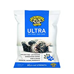 99.9% dust free, hypo-allergenic natural litter to keep your surfaces clean and perfect for families who suffer from allergies Hard clumping, medium-grain clay makes it the perfect clumping litter that helps prevent moisture Multi-cat formula and sup...
