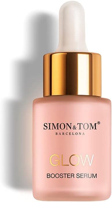 SIMON & TOM GLOW BOOSTER - Sérum Facial Concentrado - Estimula e Ilumina - Iguala el Tono de la Piel - Revitaliza la Piel y Disminuye los Signos de Fatiga - Hecho en España - 20ml
