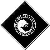 EADFH Odin Thor Viking Norse Wolf Vintage Retro Metal Sign