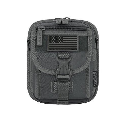 East West U.S.A RT520 Tactical Molle Pouch Taille Riem Utility Gadget Bag