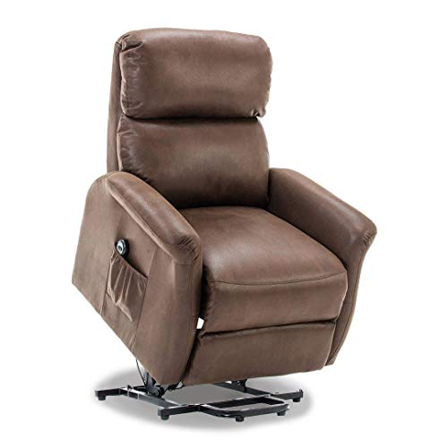 Bonzy Classic Warm and Soft Power Lift Recliner