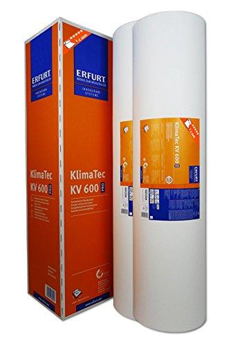 WACOLIT-SET 2 Rollen ERFURT KlimaTec Pro KV 600, 30m² Klimavlies Thermovlies, Dämmung für den Innenbereich