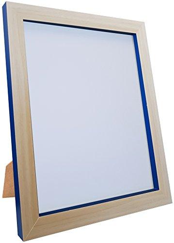 FRAMES VAN POST Magnus fotolijst, beuken/kobaltblauw, 50 x 40 cm