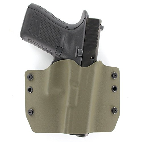OD Green OWB Holster (Right-Hand, for 1911 w/o Rail)
