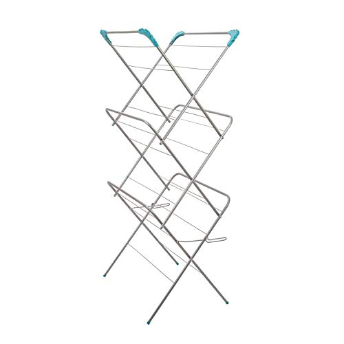 Clothes Airer Dryer Laundry Drying Washing Line Horse Indoor outdoor Towel Rack