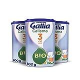 Laboratoire Gallia Calisma 3 Bio ( 3ème âge) - Lait de croissance en...