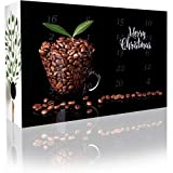 C&T Entkoffeinierter Kaffee-Adventskalender 2020 mit 2 x 12 koffeinfreien Kaffees à 35 g für je 1l aus Aller Welt (Ganze Bohnen) - Kaffeebohnen ohne Koffein für Premium-Genuss - Weihnachts-Kalender für Erwachsene - Cafe Espressobohnen Geschenkset