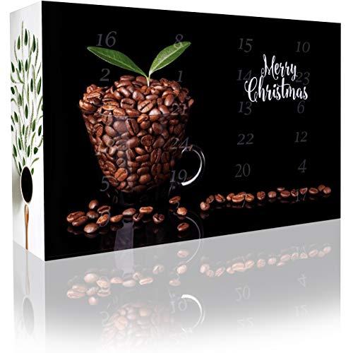 Kaffee-Adventskalender mit 12 koffeinfreien Kaffees