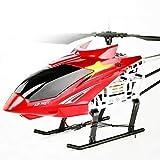 YLJYJ Helicóptero RC súper Grande al Aire Libre de 85 CM con luz LED Gyro Radio Control Remoto 3,5 Canales Helicóptero Boy Toy Aircraft tee (Coche Inteligente)