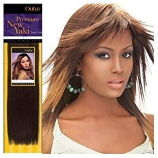 Outre Premium Human Hair New Yaki Weaving Hair Extension (10