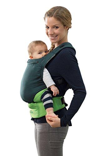 AMAZONAS Babytrage Smart Carrier Ultra-Light Green nur 370 g Eigengewicht für 0-3 Jahre bis 15 kg