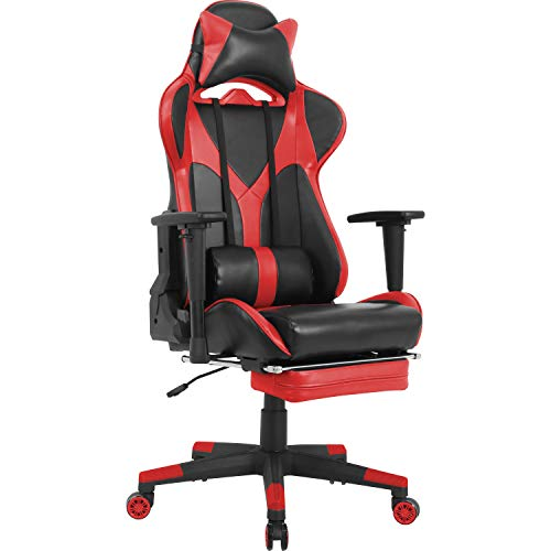 Lorell Chair, Red/Black
