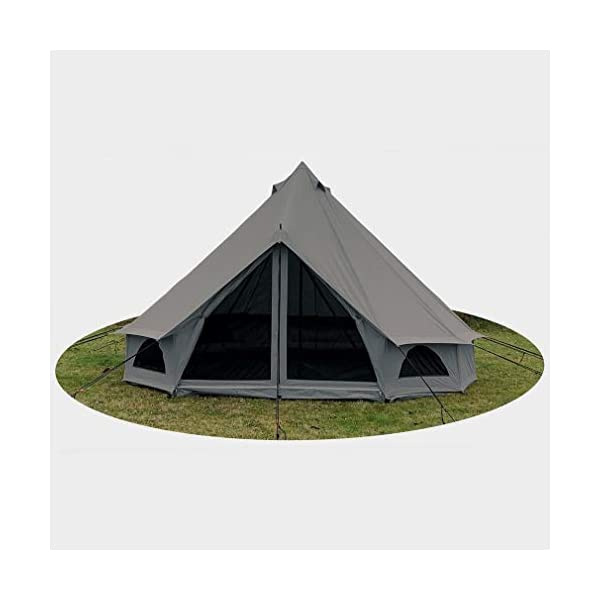 Quest 5-Metre 4 Person Bell Tent 3