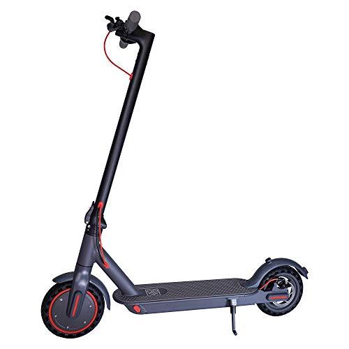 Patiente eléctrico Scooter eléctrico Aovo Pro M365 - Motor de 350 W - Faro LED - Doble freno - Plegable - Aplicación para Smartphone - Scooter eléctrico - Pantalla LCD de 8.5 pulgadas - Capacidad de peso de 120 kg - Máximo 25 km/h
