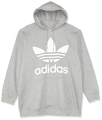 adidas Damen BF Trefoil Hoodie, Grau (Medium Grey Heather), 40
