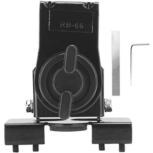 Yuyanshop -1 soporte de montaje de antena de coche para radio móvil, base de antena móvil ajustable para montaje en clip de coche para radio móvil, montaje en cajuela tapa/Hatchback/puerta