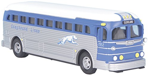 Die-Cast Bus - Greyhound (Cleveland) O Scale