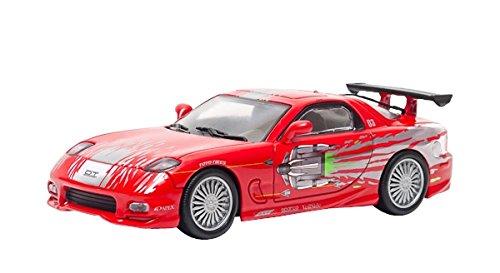 Greenlight Collectibles - 86204 - Véhicule Miniature - Modèle À L'échelle - Mazda Rx7 - Fast and Furious - Echelle 1/43