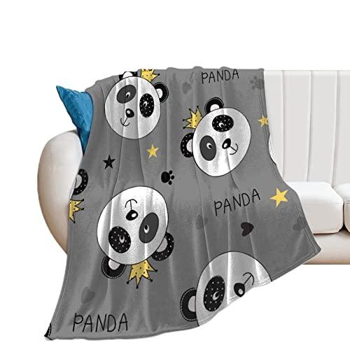 Flauschige Kuscheldecke Panda-Krone Tagesdecke Oder Wohnzimmerdecke 60