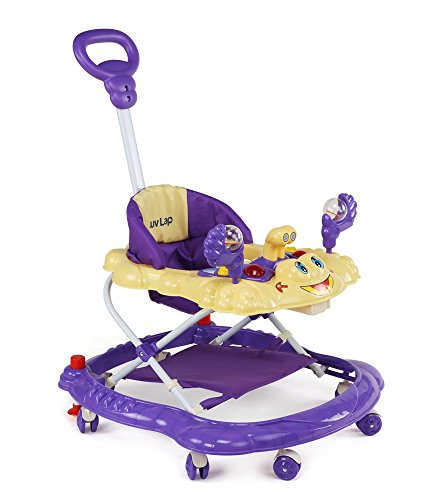 Luvlap Sunshine Baby Walker (Purple)