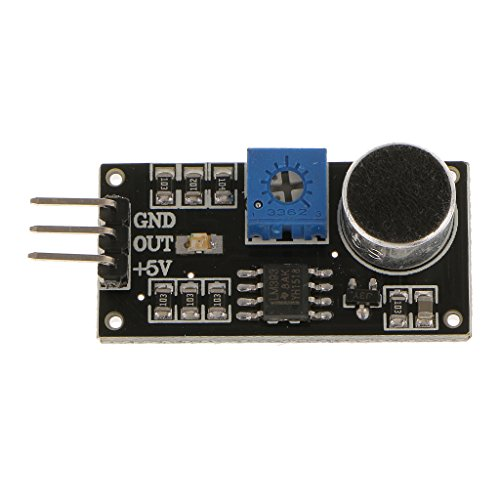 LM393 Módulo de Prueba Sensor de Detección de Voz Detector de Sonido para Arduino