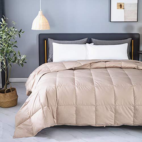 KumiQ Lightweight 100% White Goose Down Blanket Comforter ...