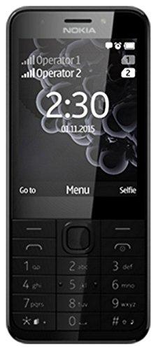 Nokia 230 Dual Sim Handy, 16 MB, schwarz