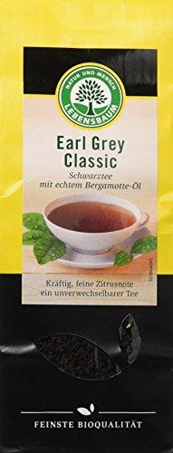 Lebensbaum Earl Grey Classic, kräftig, 2er Pack (2 x 100 g) - Bio