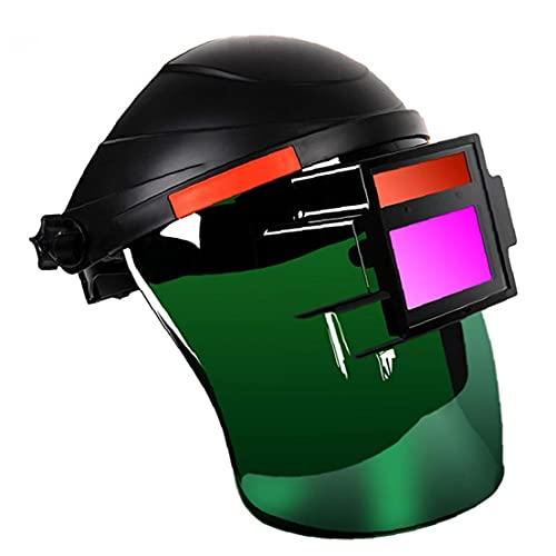 Yililay Casco de Soldadura Careta Head Mounted Ojo Protector Seguridad Trabajo Plasma Arco de argón Equipo Soldador de Uso Duradero
