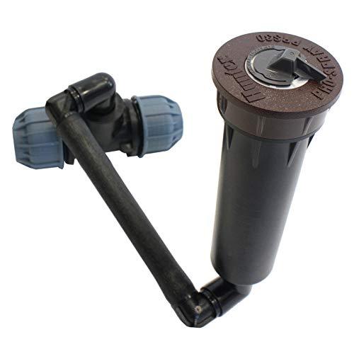 Hunter 3-er Set Pro Montageeinheit für Sprühdüse A Düsen, 25mm, 15 oder 30 cm (Anschluss Swing - 15 cm)